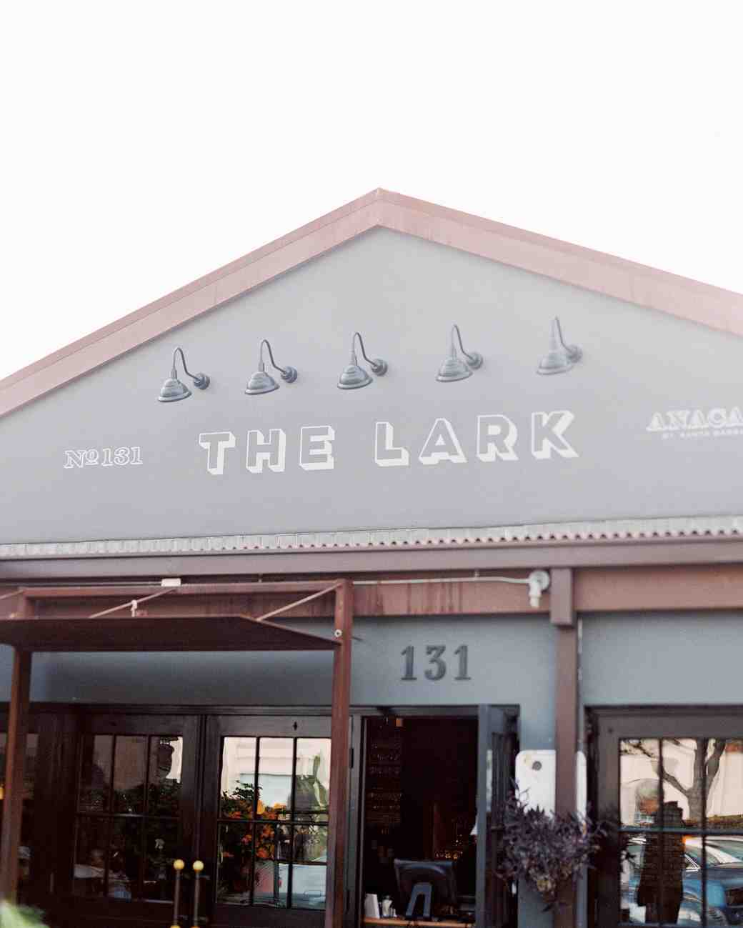 the lark wedding venue