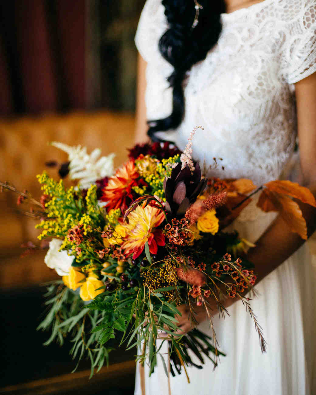 d687dbed0a2c7 52 Gorgeous Fall Wedding Bouquets | Martha Stewart Weddings