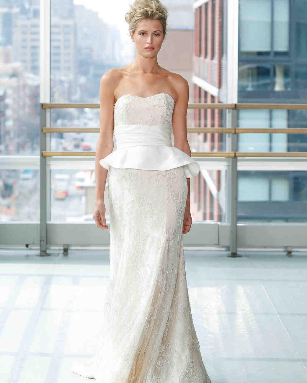 gracy accad wedding dress spring 2019 sweat heart peplum beaded