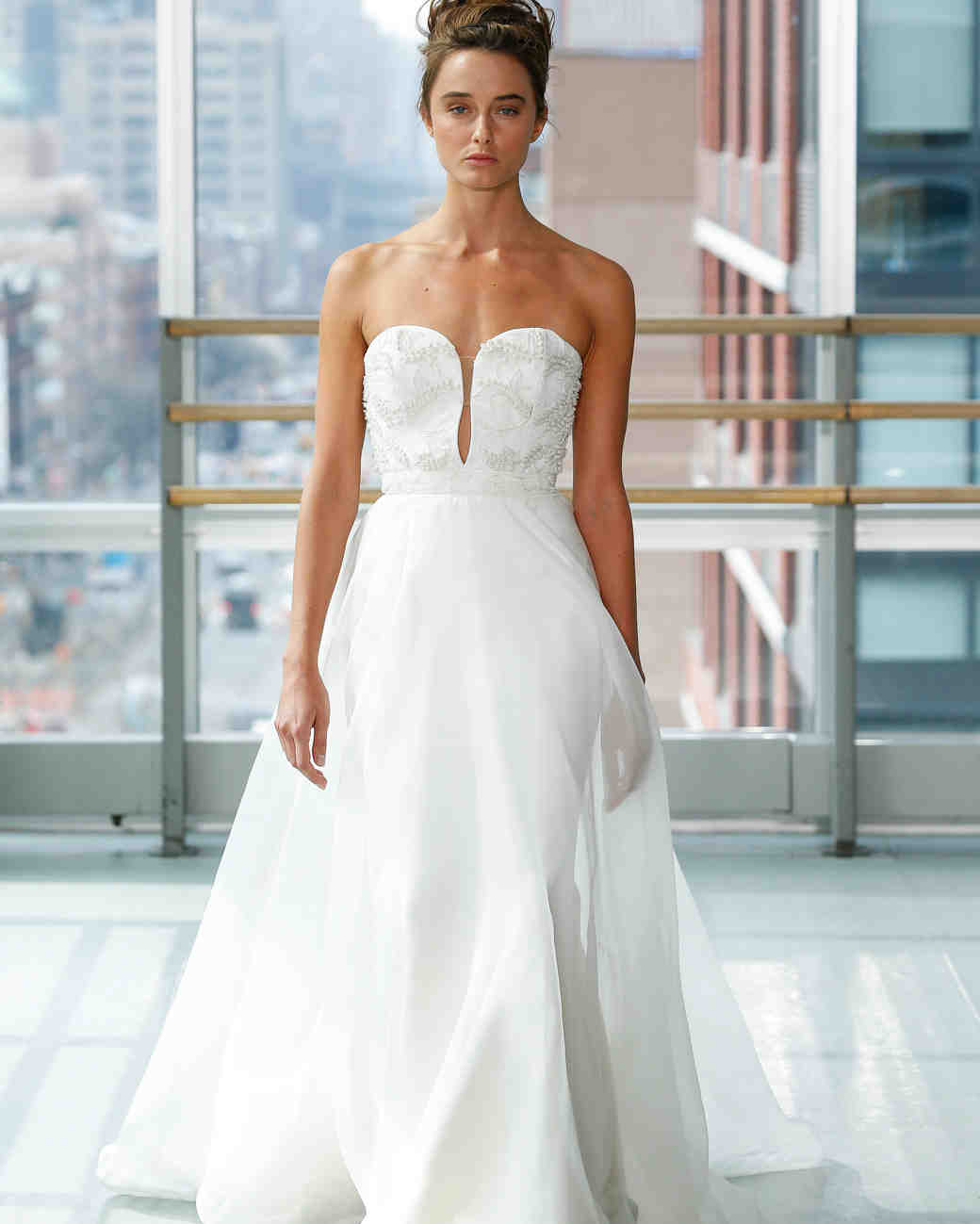 gracy accad wedding dress spring 2019 a-line cutout strapless
