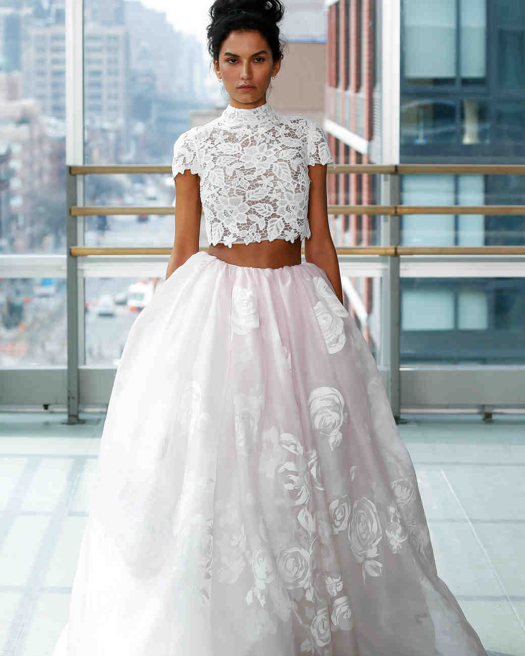 dress - Piece two Bridal wedding dress pictures video