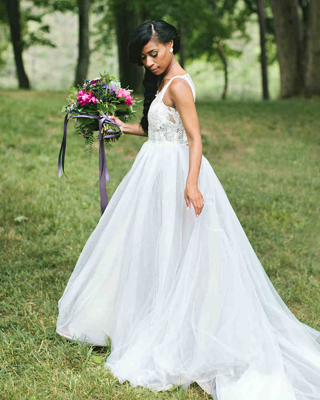 Fashion week Neck High wedding dress hair pictures for lady