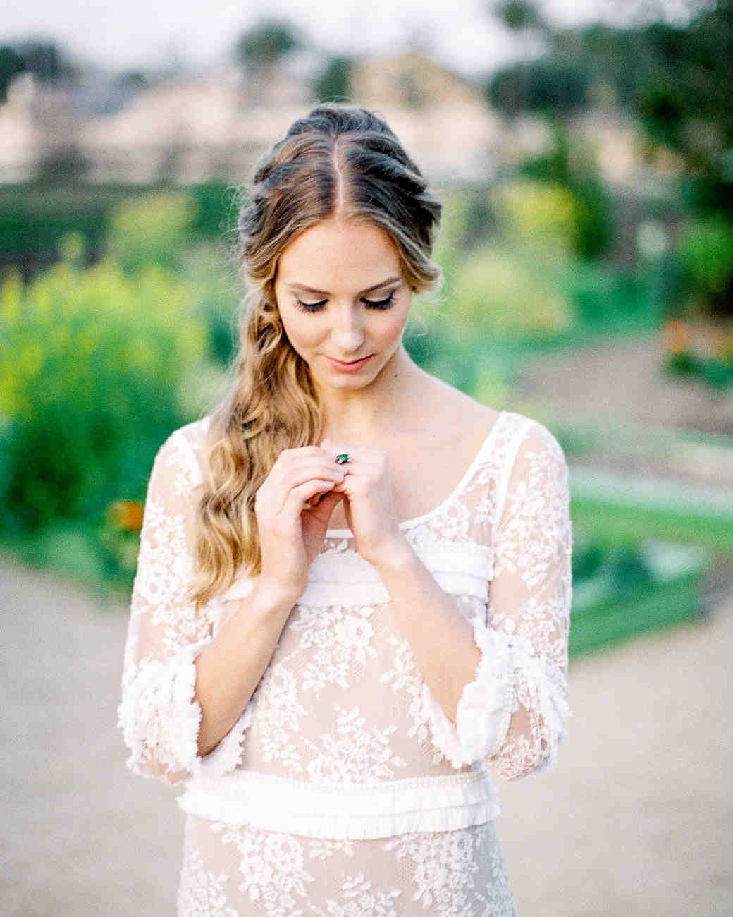 The Right Hairstyle For Your Wedding: The Best Hairstyles For Every Wedding Dress Neckline