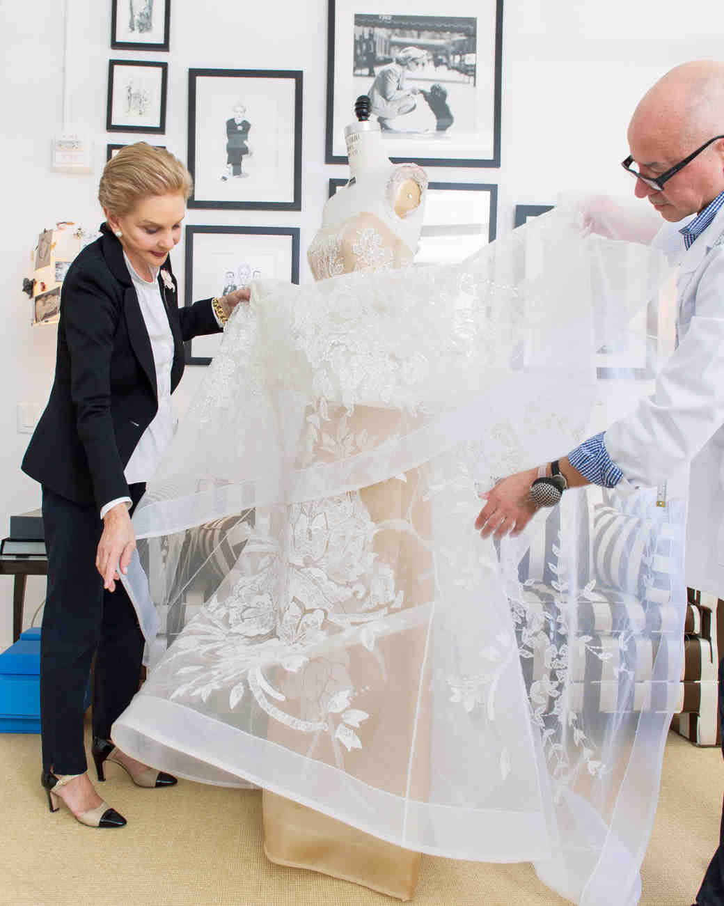 A Diary of the Making of a Wedding Dress: Behind-the-Seams with ...