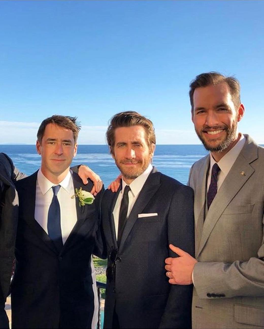 Jake Gyllenhall Amy Schumer Wedding Guest
