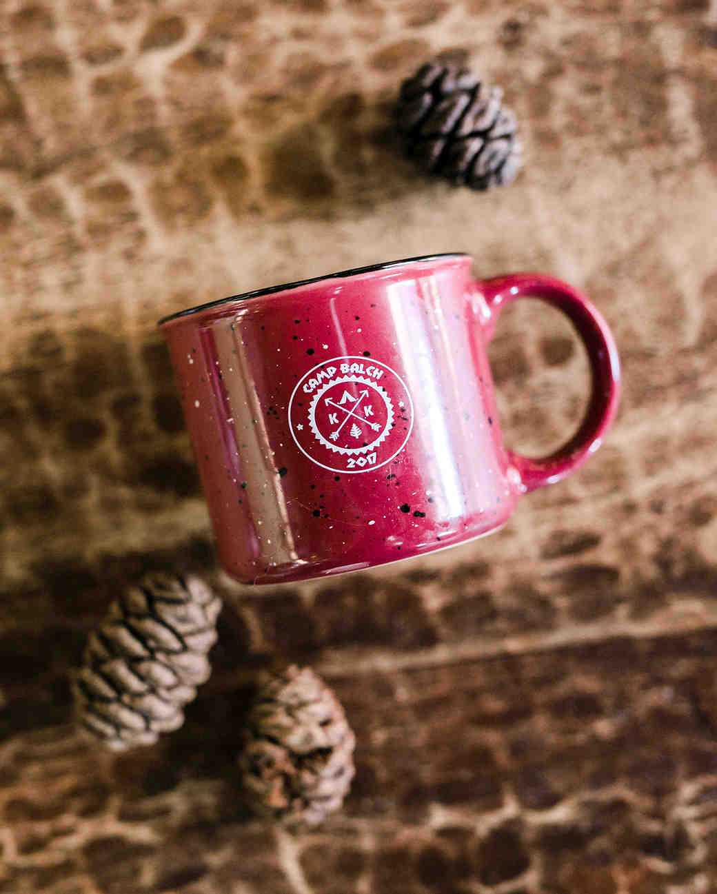kelly kelsey wedding camp mugs