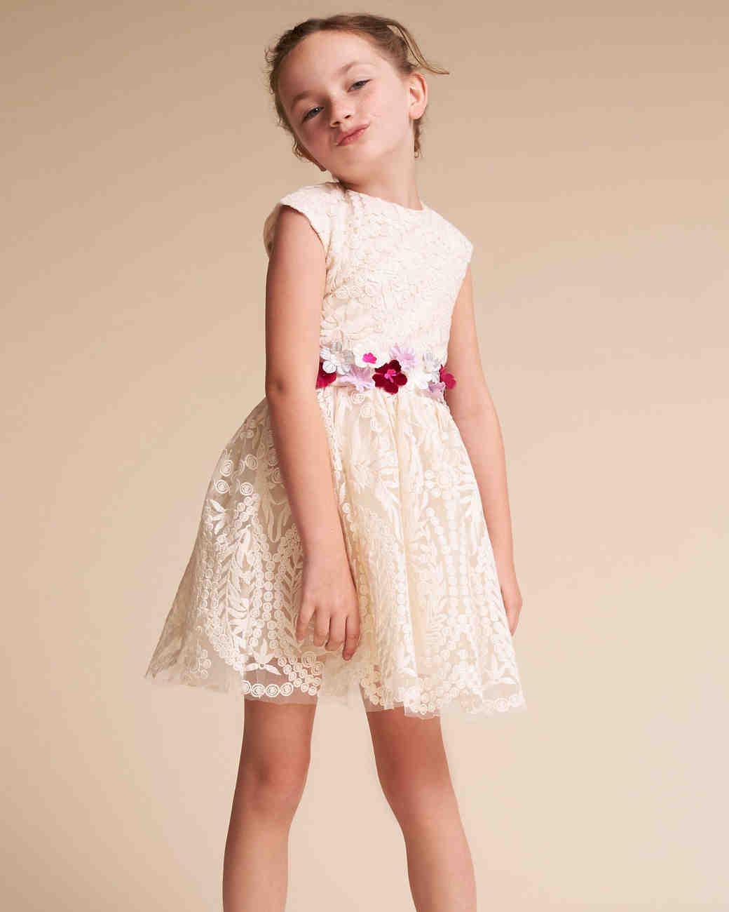 25 of the sweetest lace flower girl dresses martha stewart weddings mightylinksfo