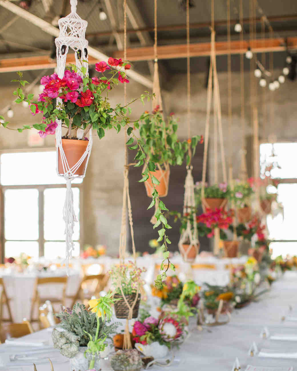 Ideas For Wedding Flower Arrangements: Boho-Chic Wedding Ideas For Free-Spirited Brides And