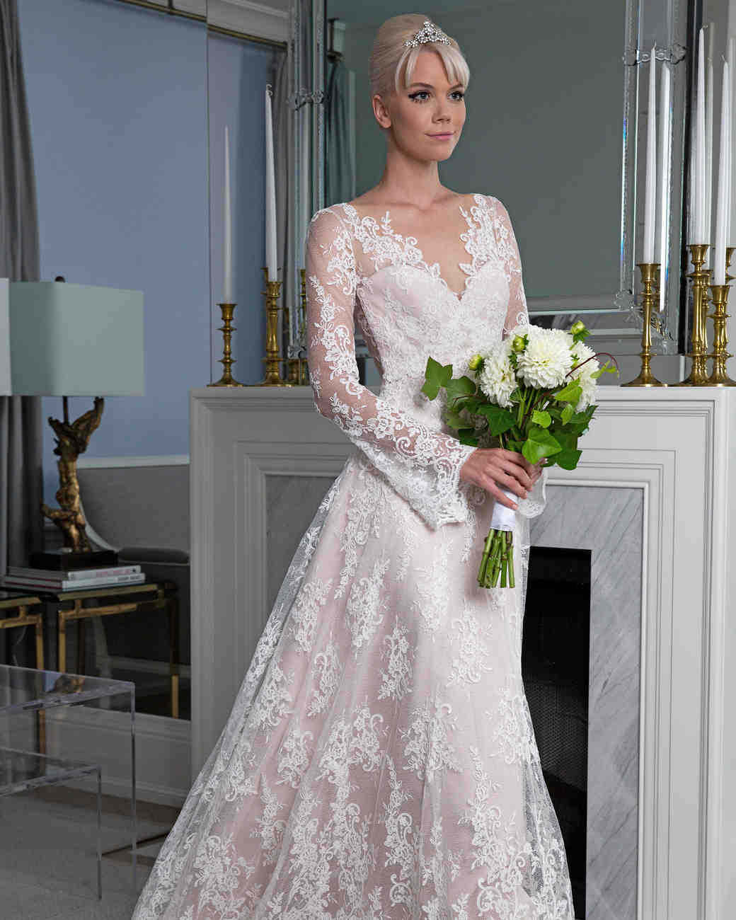 Legends Romona Keveža v-neck sweetheart wedding dress fall 2019