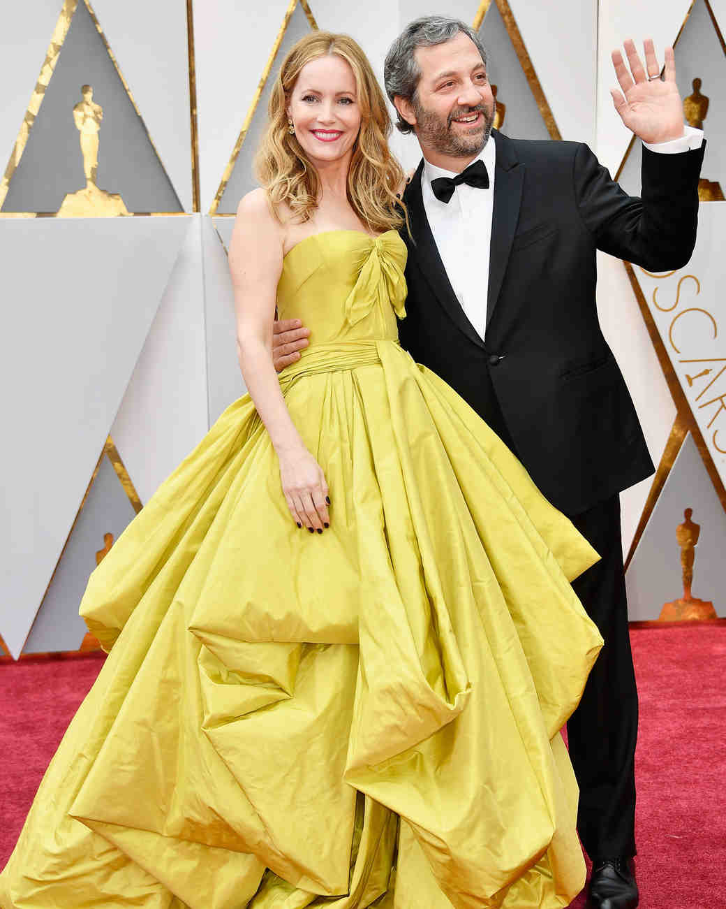 Leslie Mann and Judd Apatow at 2017 Academy Awards