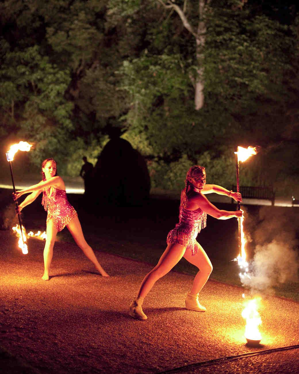momina jack wedding fire dancer