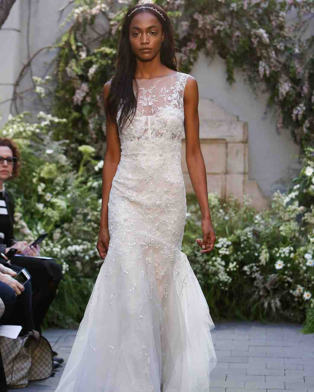 "Monique Lhuillier ""Crystal"" Gown"