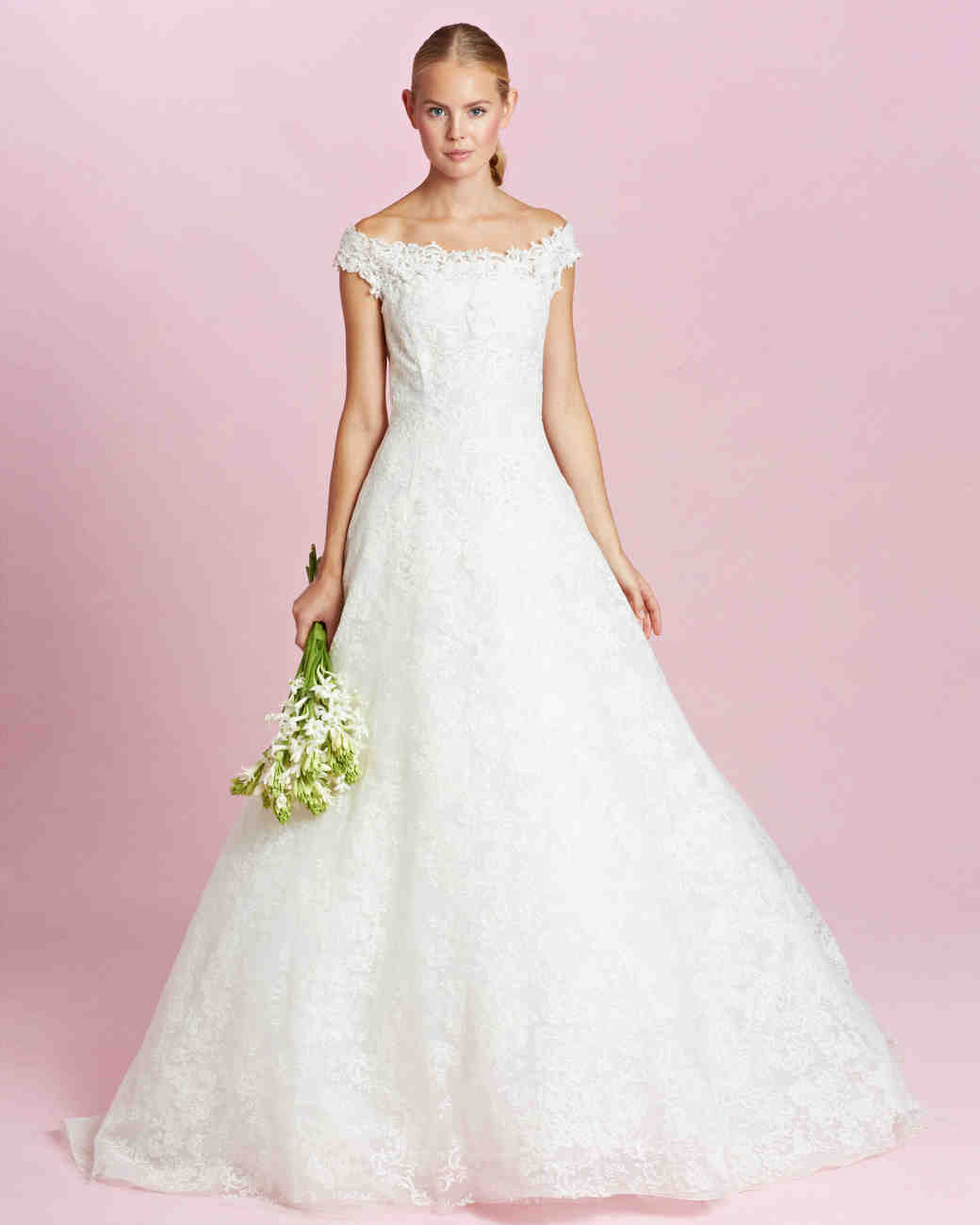 Carolina Herrera Fall 2015 Bridal Collection | Martha Stewart Weddings