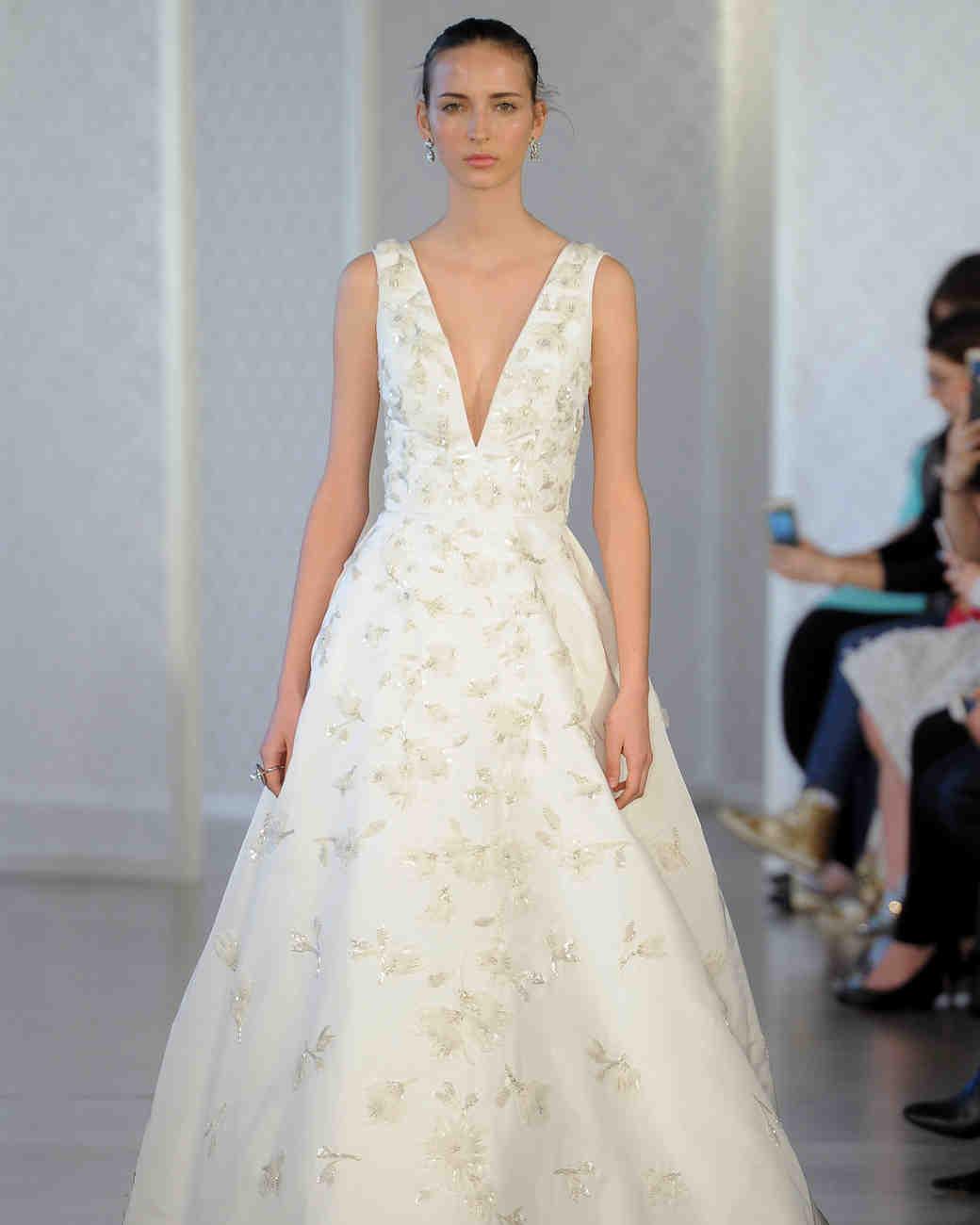 Oscar del renta wedding dress cheap