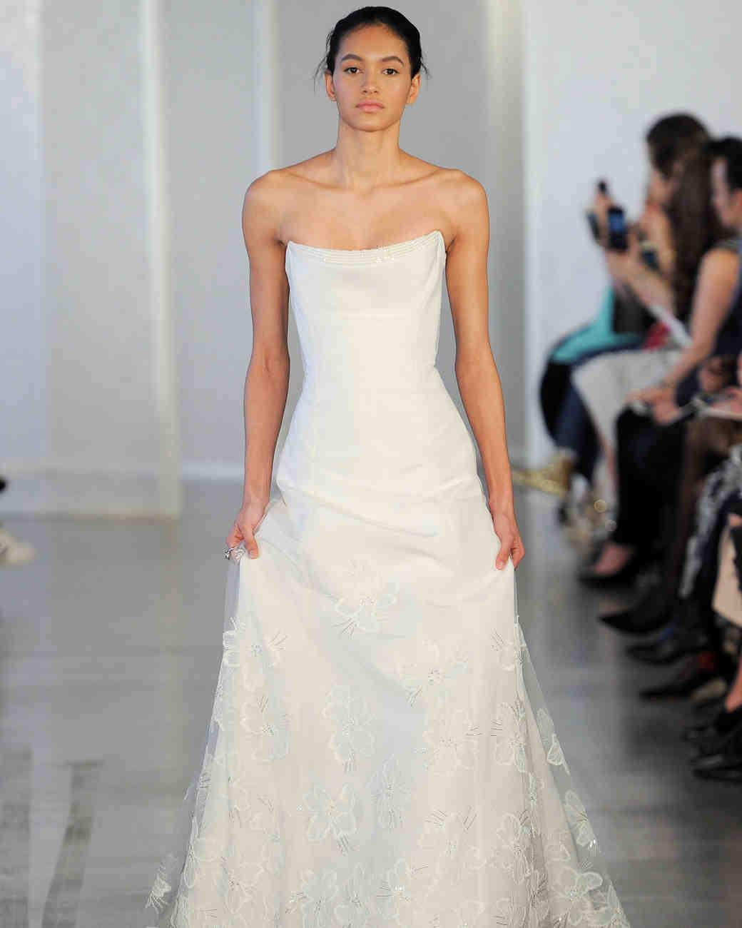 Oscar Dela Renta Wedding Gown: Oscar De La Renta Spring 2017 Wedding Dress Collection