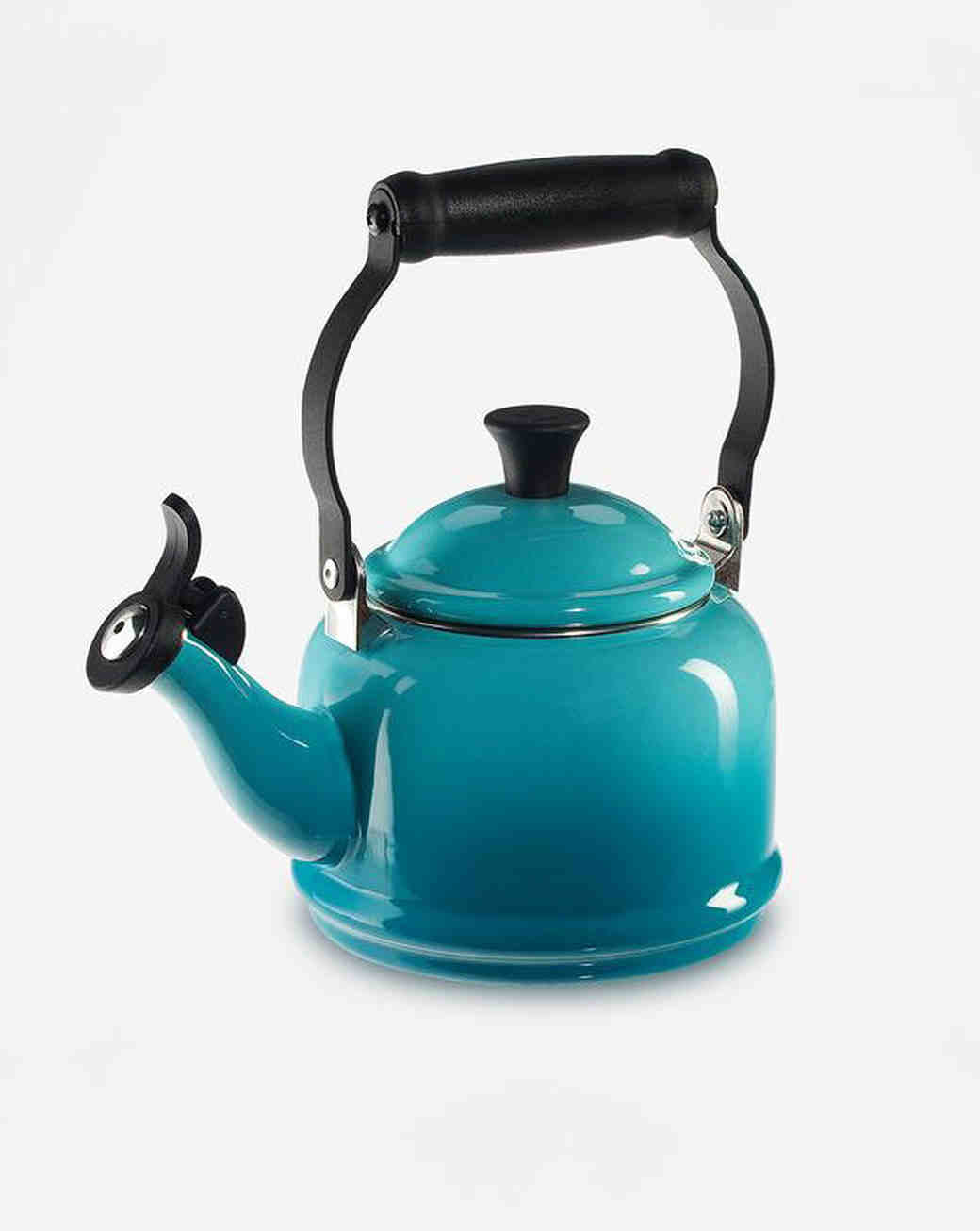 pop of color le creuset kettle zola