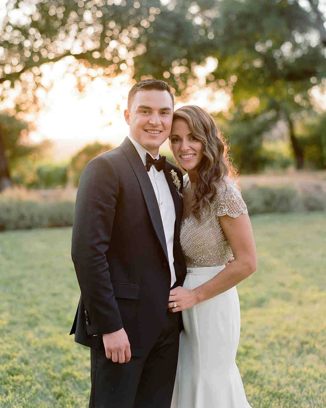 rae rob wedding bride and groom portrait