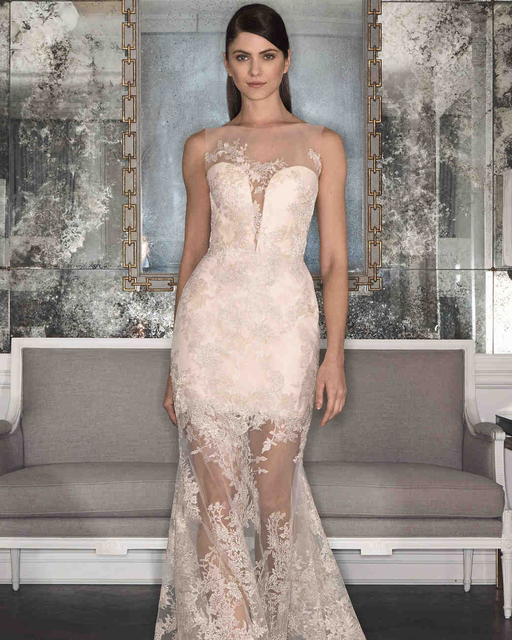 Nude Wedding Dresses 86 Superb Romona Keveza Wedding Dress