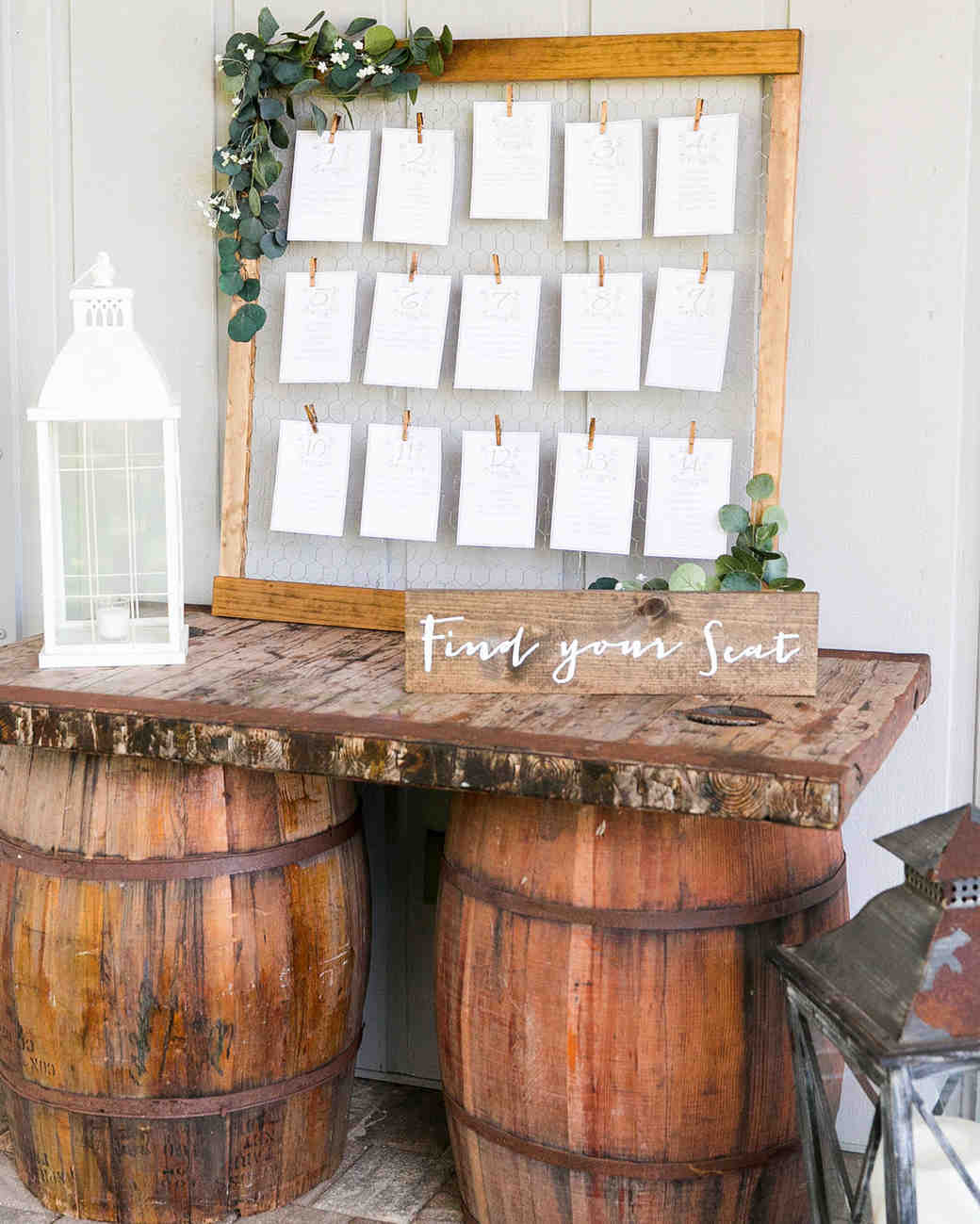 rustic wedding ideas amalie orrange