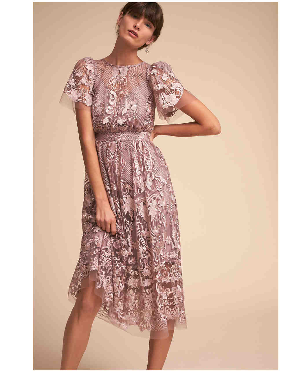 short bridesmaid dresses bhldn