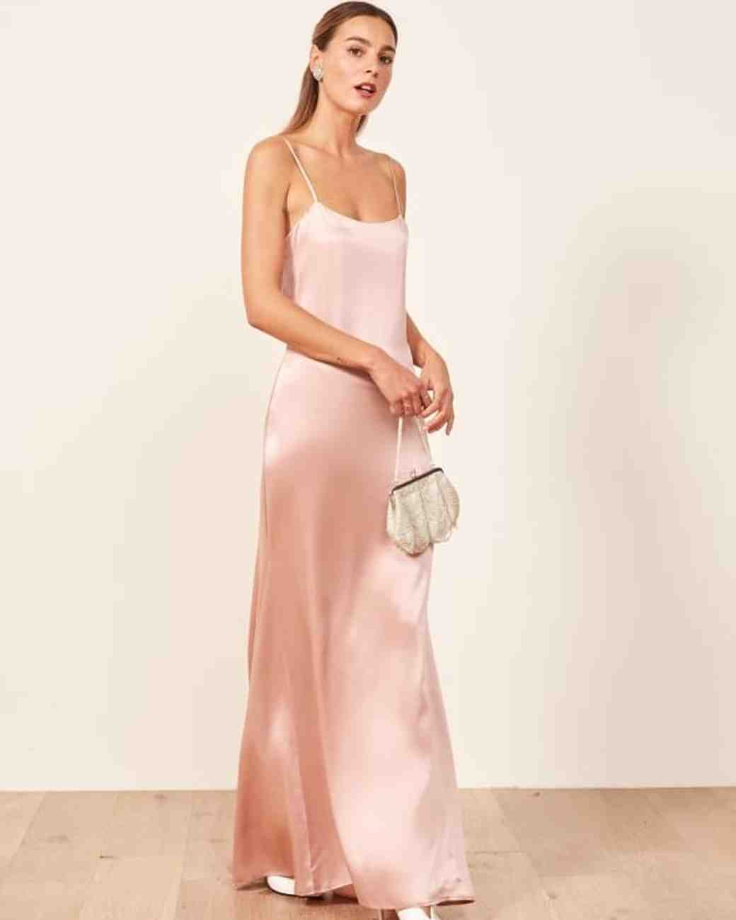 b63708085578 Blush Pink Bridesmaid Dresses Macys