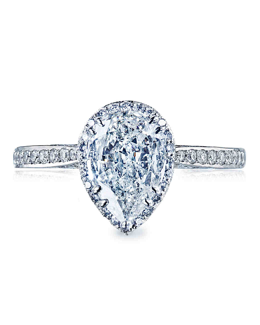 Tacori Pear-Cut Engagement Ring