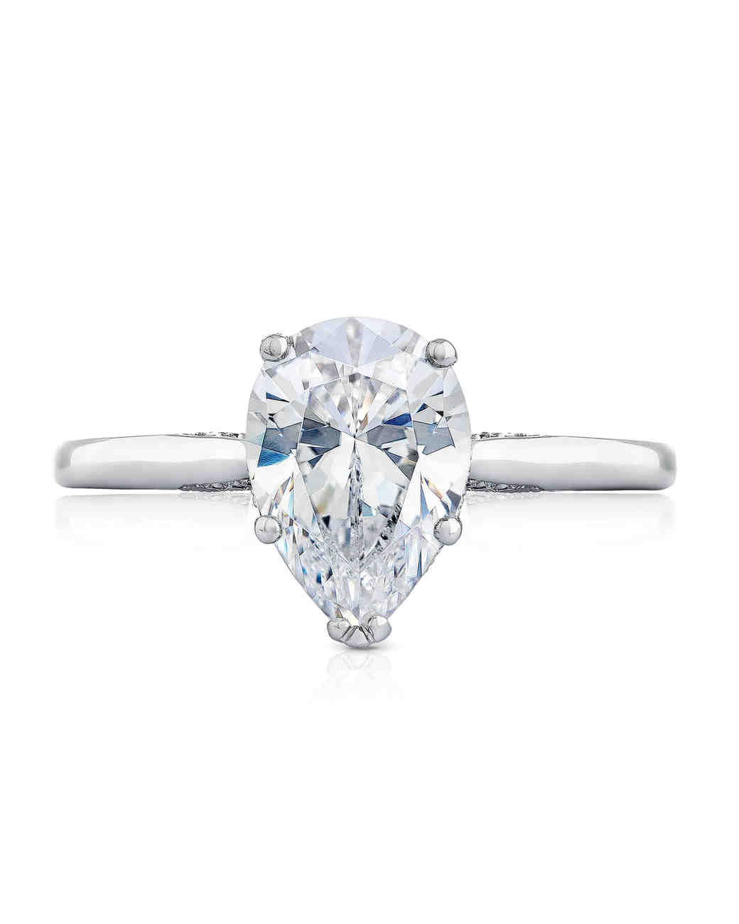 stone engagement multi white rings ring diamond pear halo p shaped gold