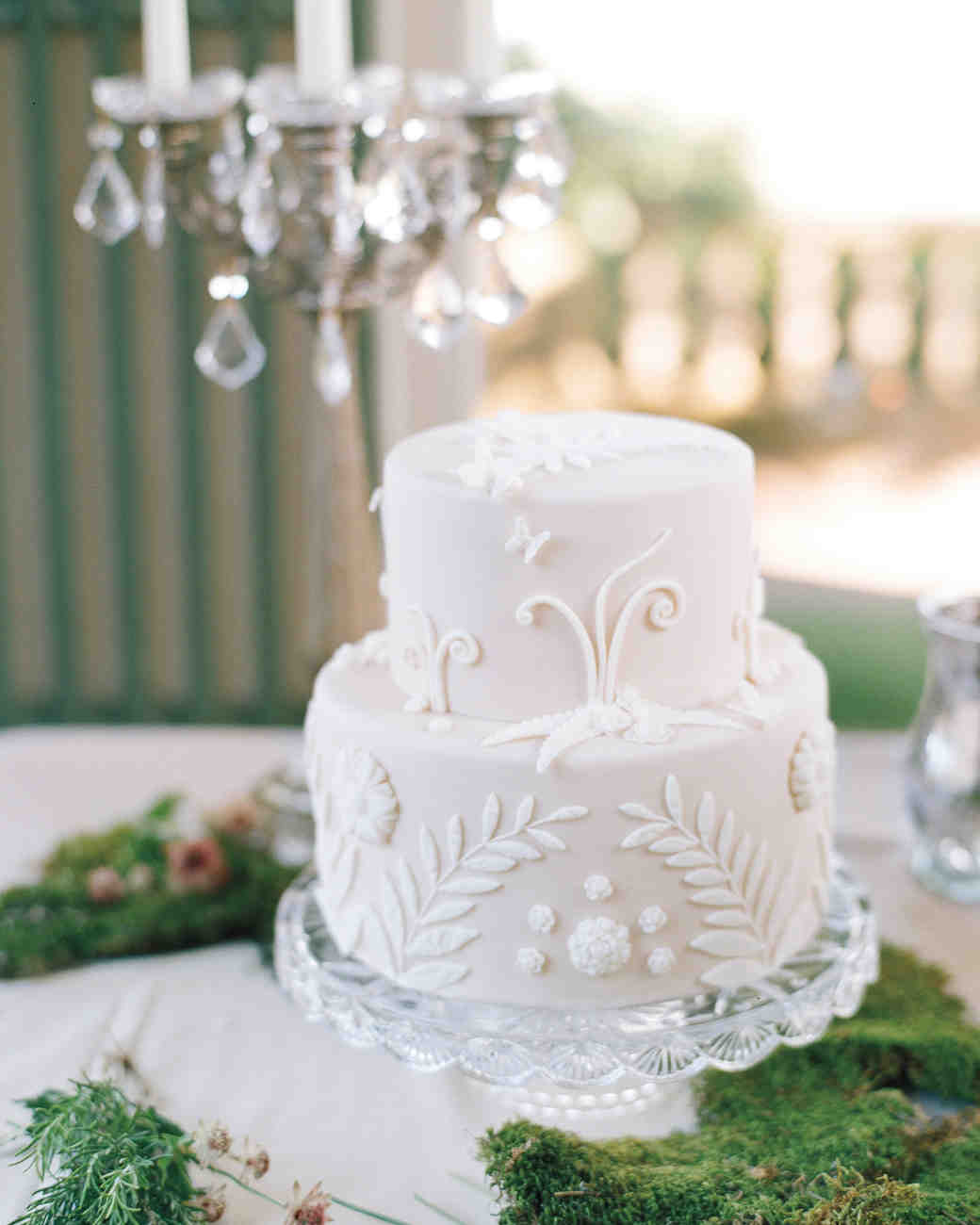 dress-inspired wedding cake