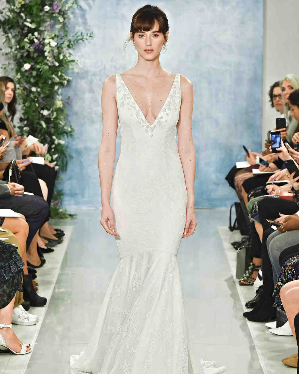Claire Pettibone Fall 2018 Wedding Dress Collection | Martha Stewart ...