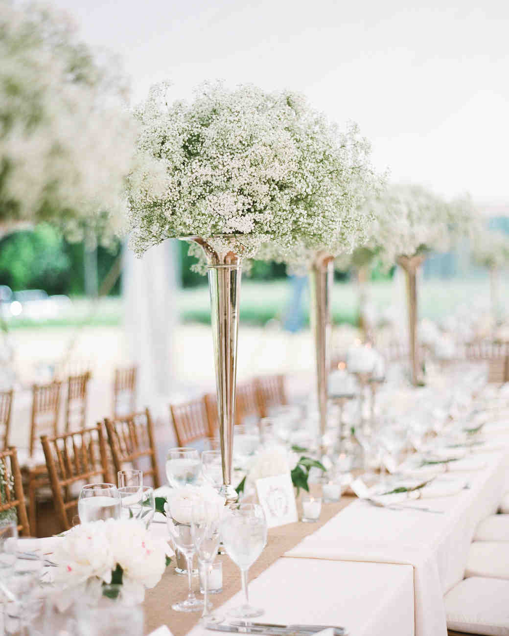 Affordable wedding centerpieces that still look elevated for Cheap wedding decorations for tables