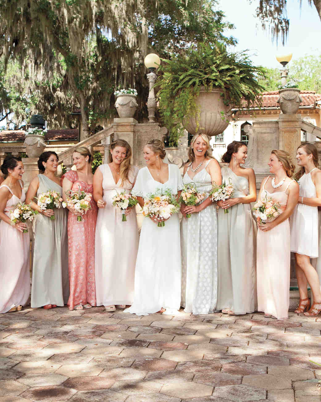 12 new rules for dressing your bridesmaids martha stewart weddings ombrellifo Image collections