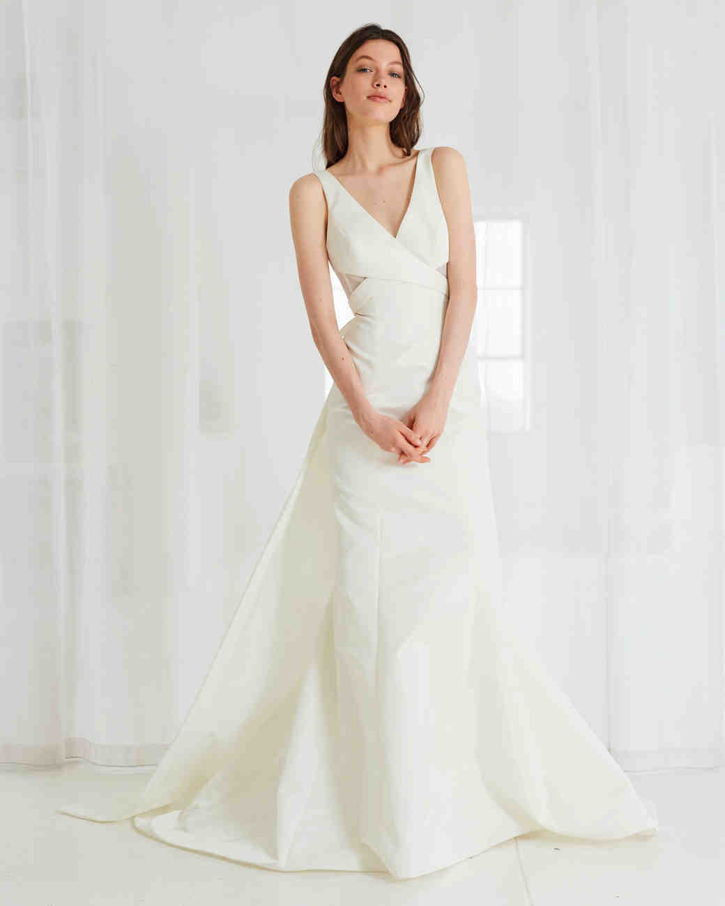 Amsale Spring 2018 Wedding Dress Collection | Martha Stewart Weddings