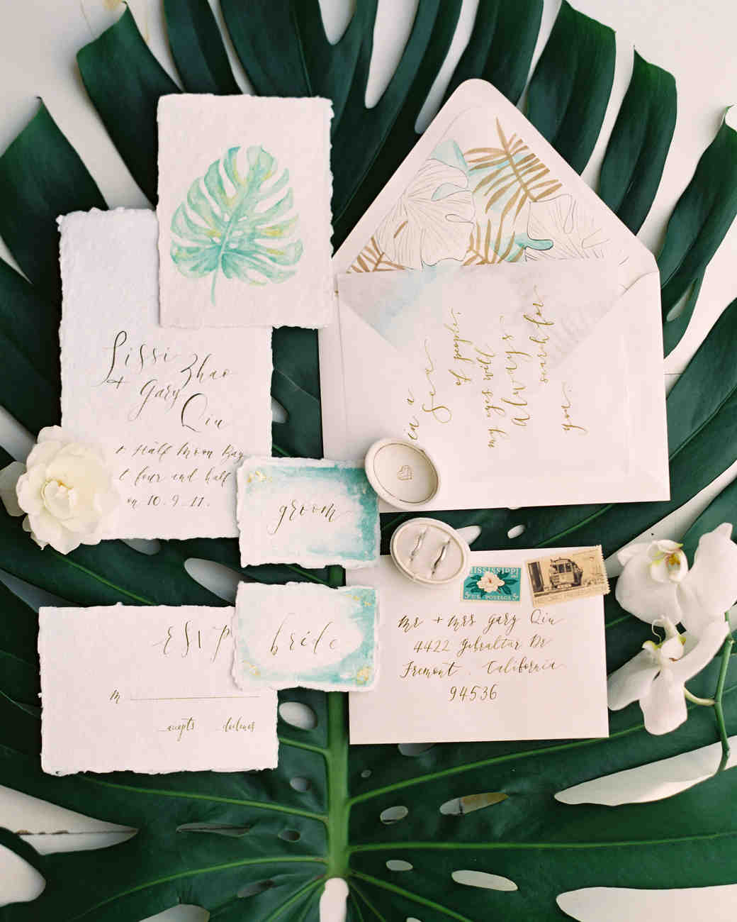 Beach Wedding Invitations That Set The Mood For A Seaside