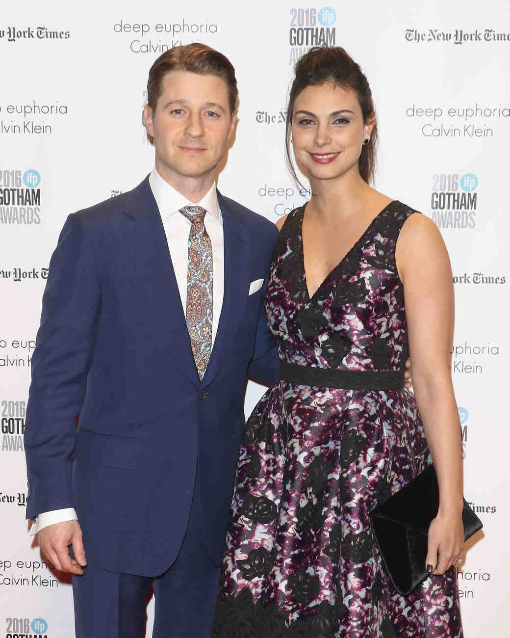 Ben McKenzie and Morena Baccarin