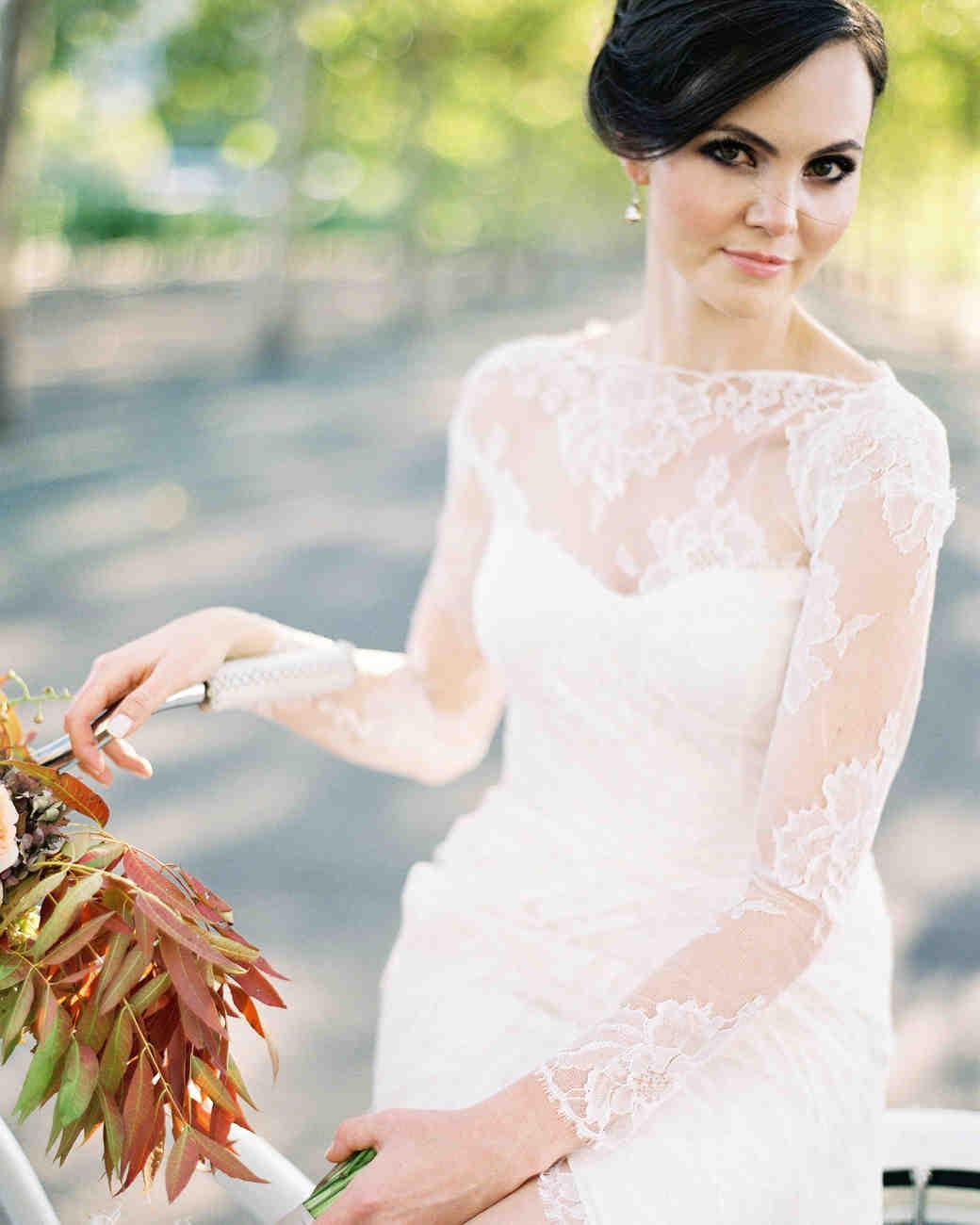 21 Ways to Wear a Boat Neck Wedding Dress | Martha Stewart Weddings