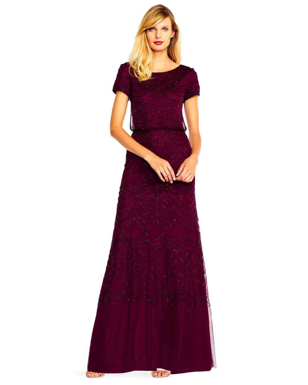 24 Burgundy Mother-of-the-Bride Dresses  fcbafcc5f2ec