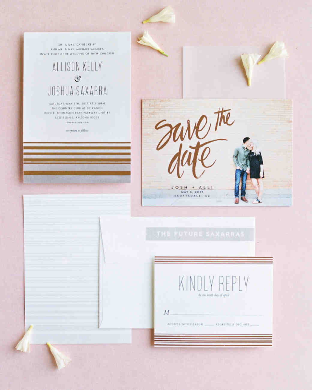 Creative Save The Date Wedding
