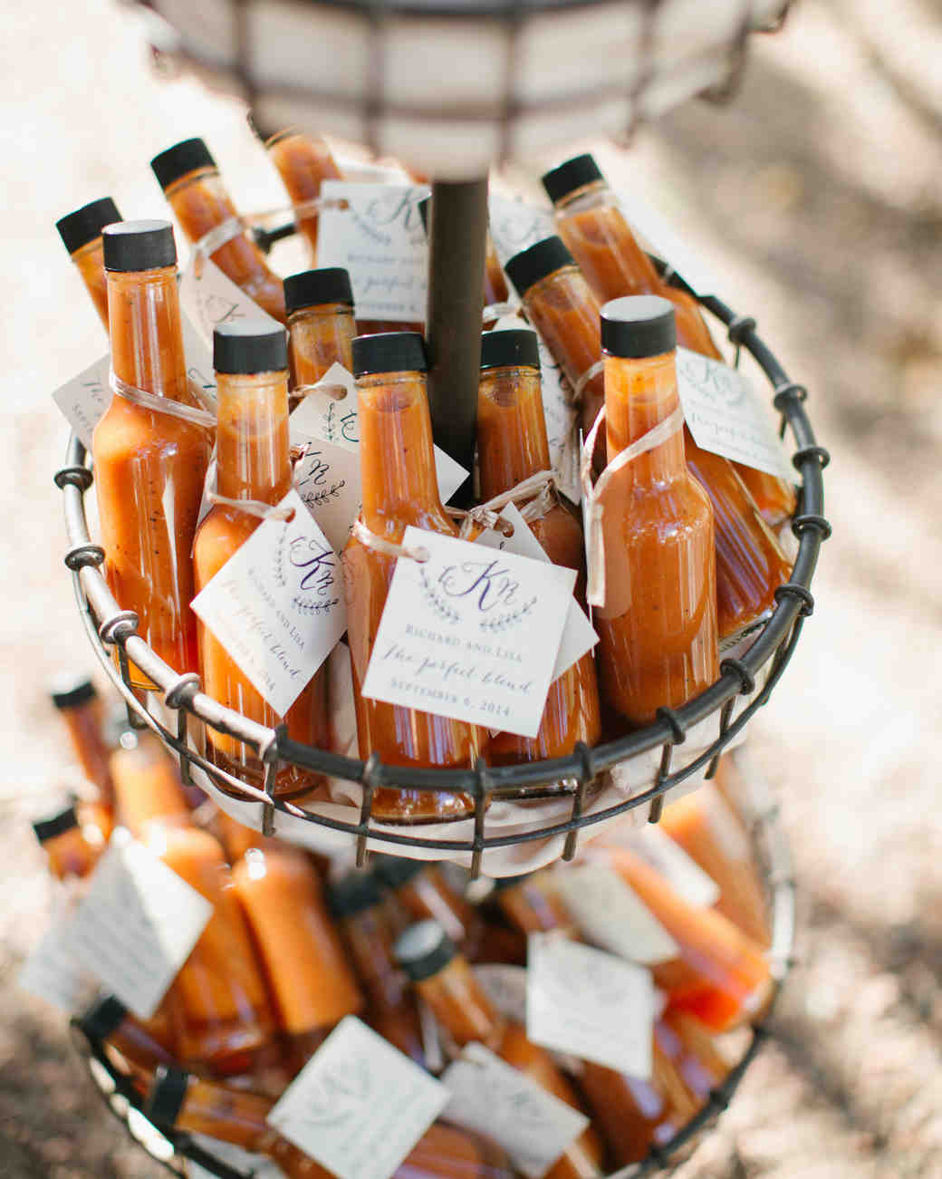 hot sauce edible wedding favors
