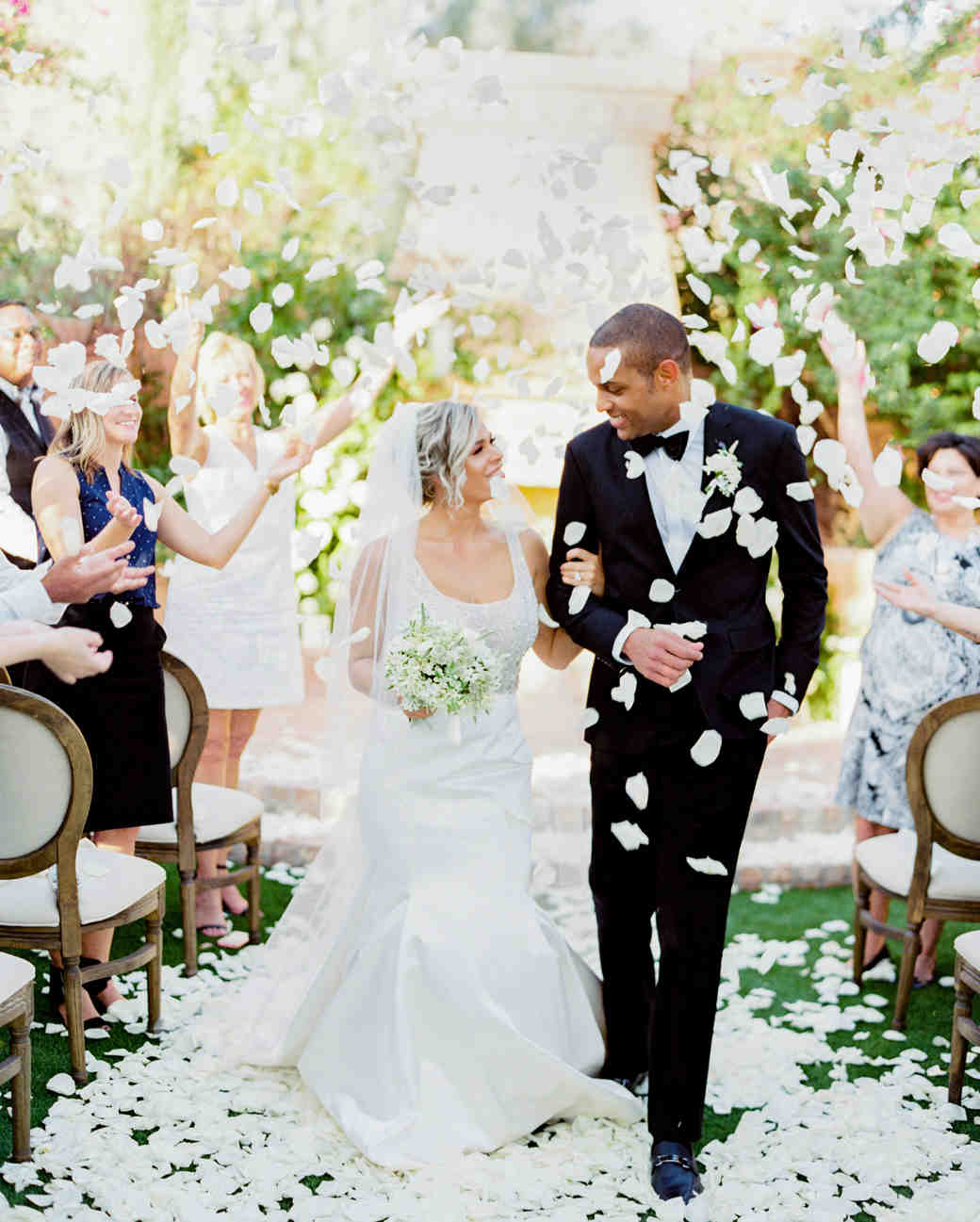 Elizabeth and Robert wedding recessional