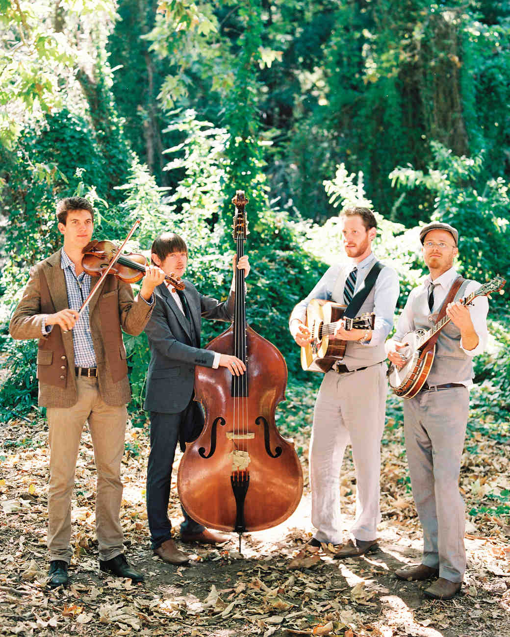 Wedding Band Performing Outside