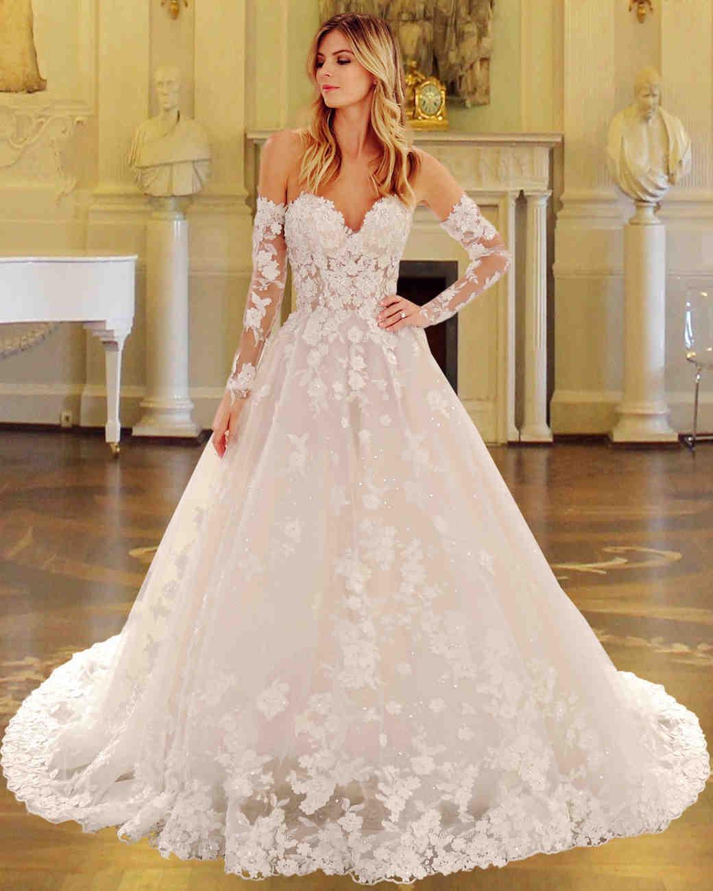 Eve of Milady Lace Wedding Dress