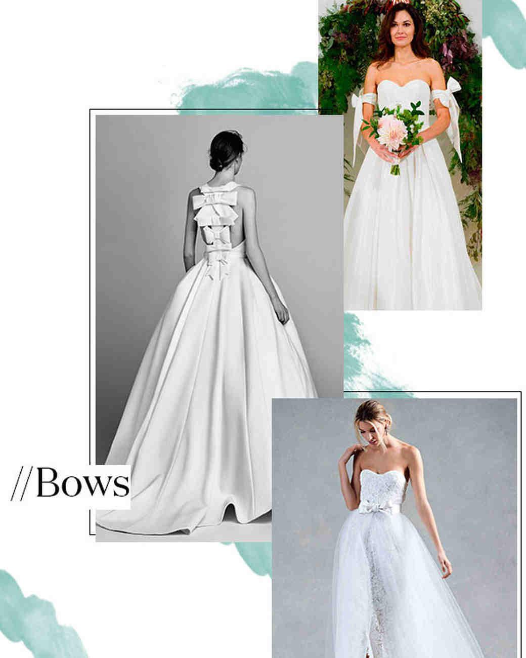 Fall 2017 Wedding Dress Trend: Bows