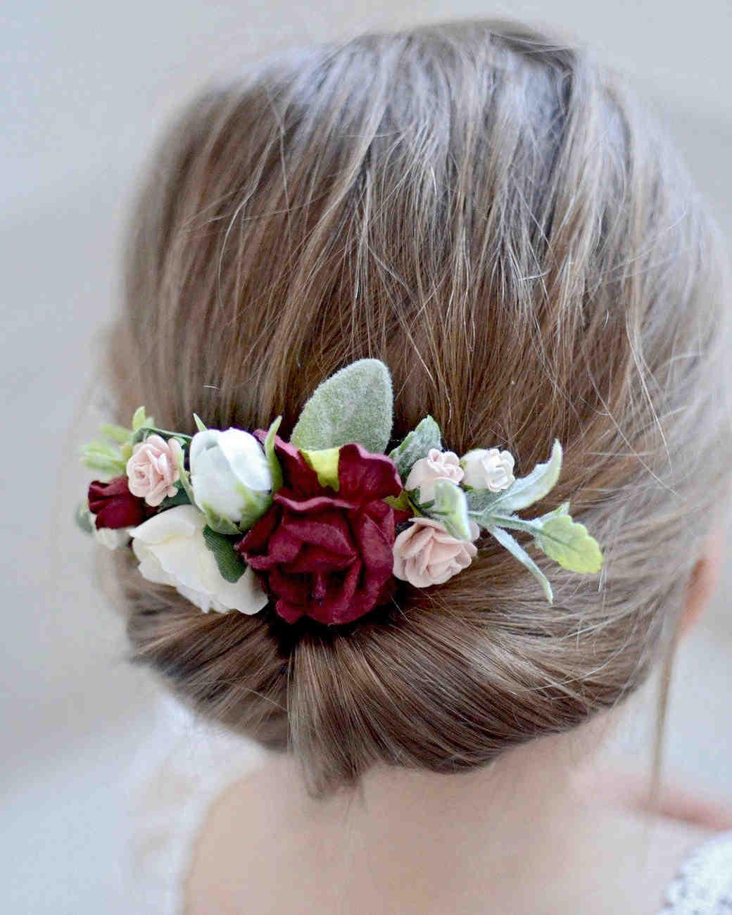 Sweet Nest Boutique Flower Girl Hair Comb