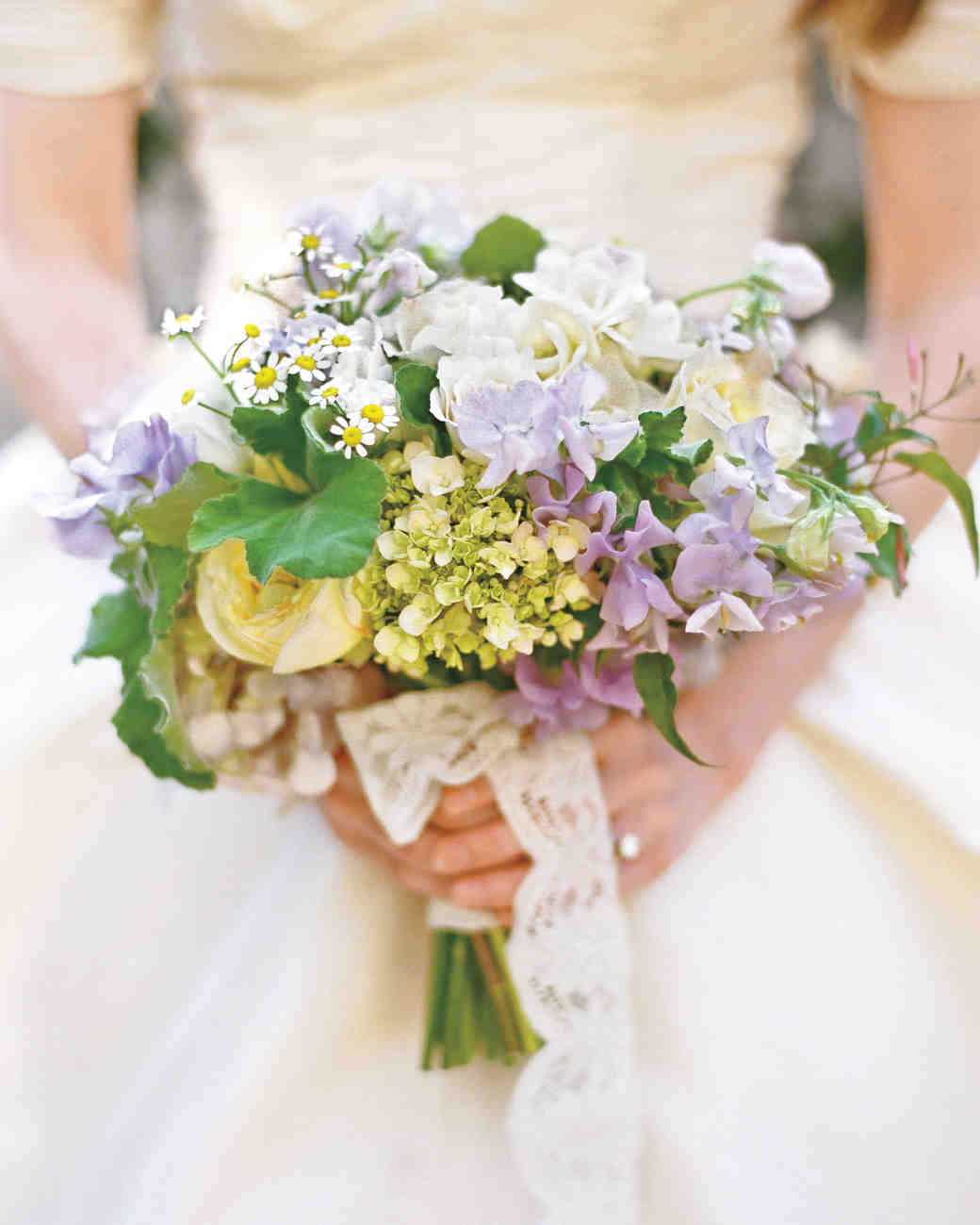 Bouquets From Real Weddings Martha Stewart Weddings