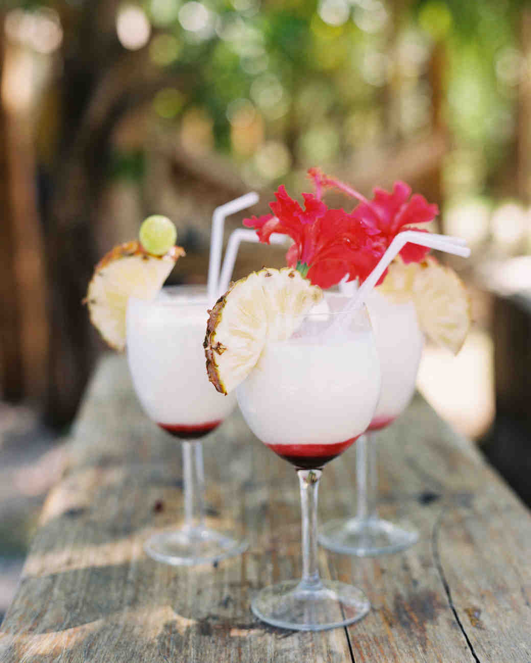 tropical wedding drinks