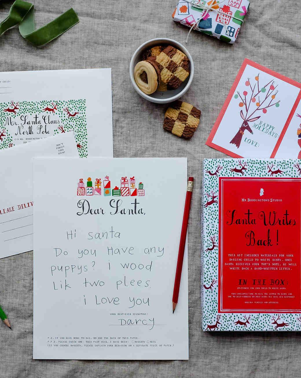 Letters to Santa Kit