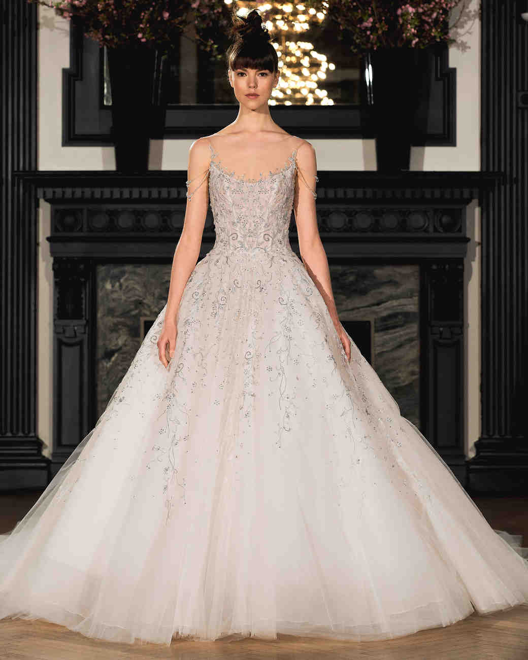 ines di santo wedding dress spring 2019 beaded a-line