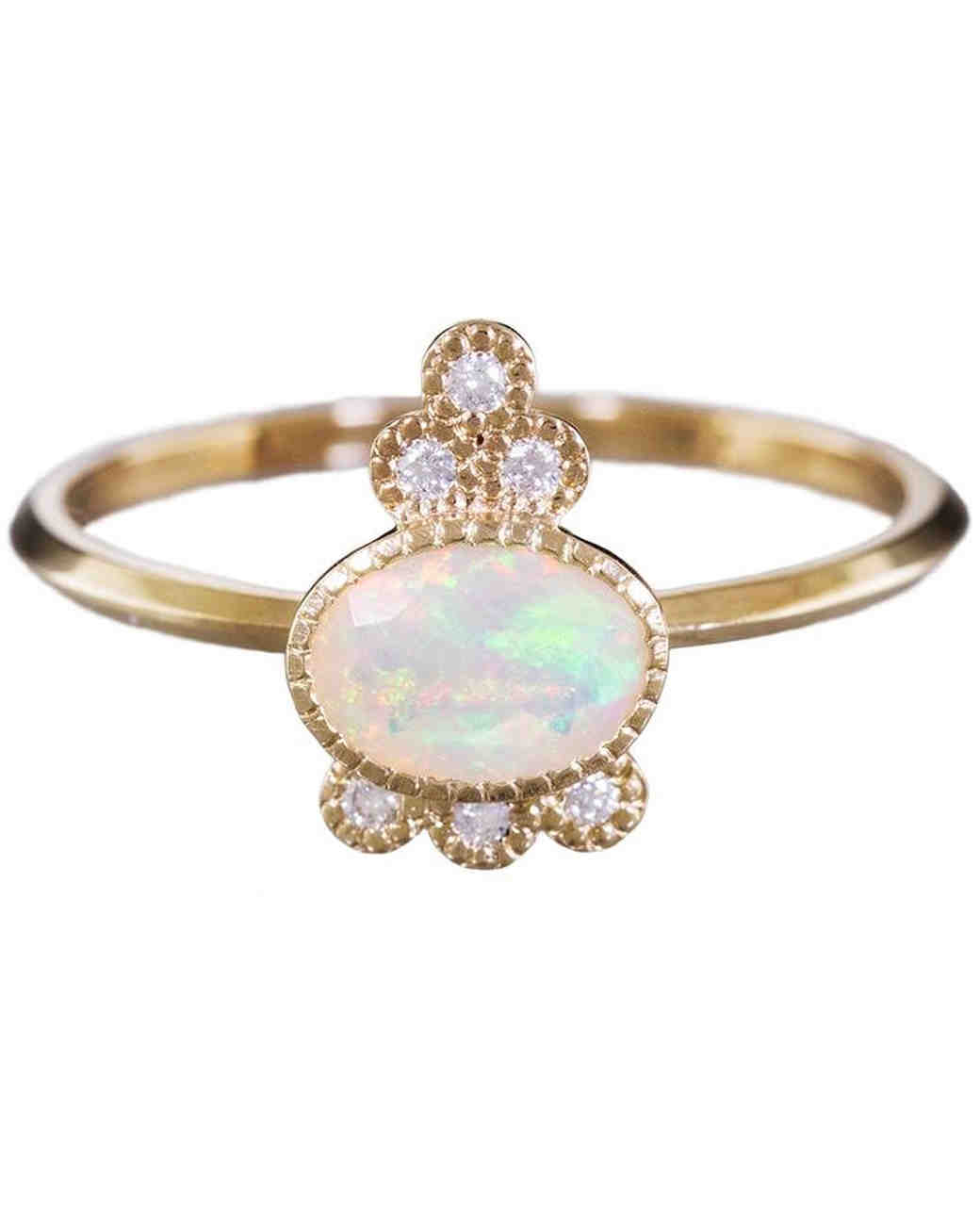 triple gold in offered australian rings filigree or natural sterling engagement media ring silver yellow solid opal
