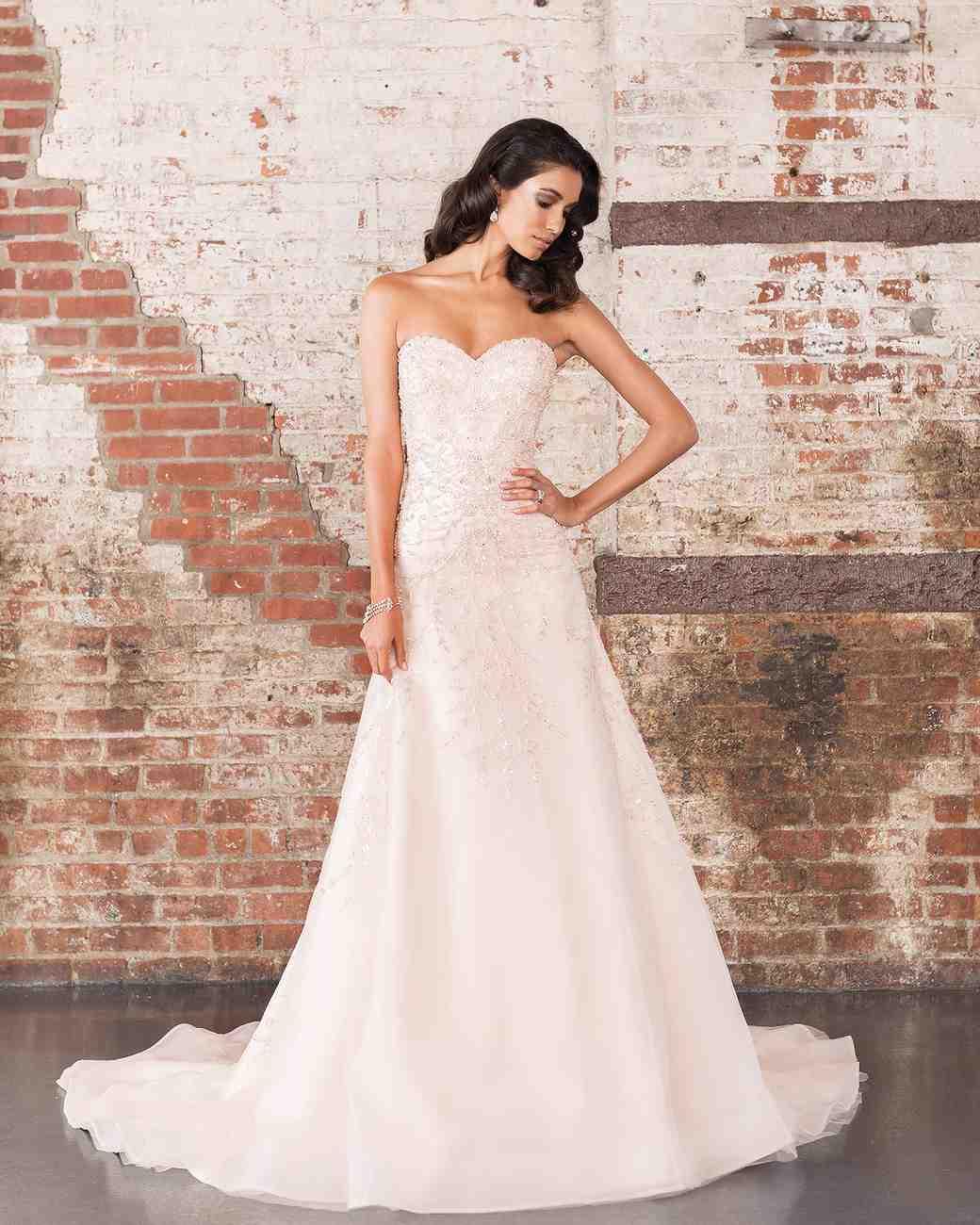Justin Alexander Signature Spring 2017 Wedding Dress Collection Martha Weddings