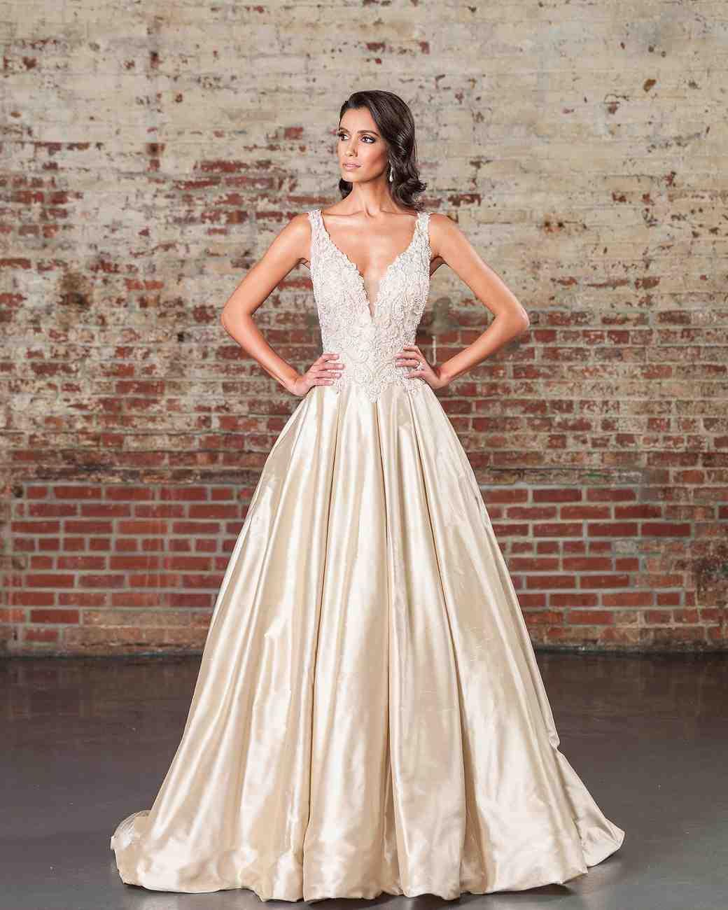 Justin Alexander Signature Spring 2017 Wedding Dress Collection | Martha  Stewart Weddings